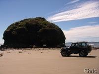 Playa Piedra Run e o valente Troller