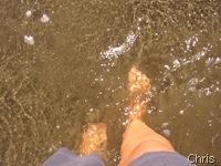 Finalmente com os pés no Pacífico