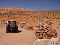 Cuesta de Lipan  a subida para o Paso de Jama com mais de 4200m de altitude