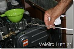 Verificando o nível do óleo