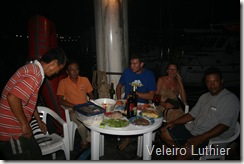 Churrasco no pier