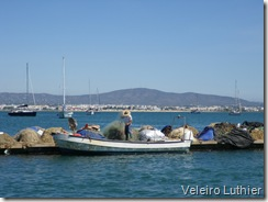 Porto de pesca na Ilha da Culatra