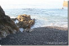 Praia de seixos