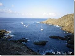Ilha Selvagem - ancoragem