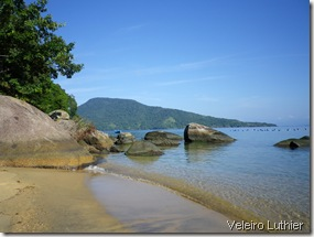 Praia na Ilha Grande