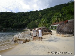 Praia em Ilha Grande