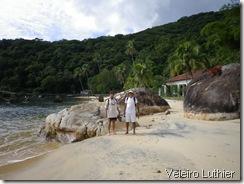 Praia em Ilha Grande